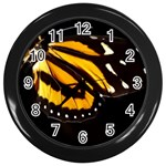 butterfly-pop-art-print-11 Wall Clock (Black)