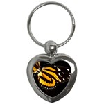 butterfly-pop-art-print-11 Key Chain (Heart)