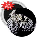 butterfly-pop-art-print-13 3  Magnet (100 pack)
