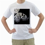 butterfly-pop-art-print-13 White T-Shirt