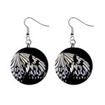 butterfly-pop-art-print-13 1  Button Earrings