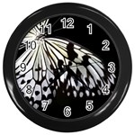 butterfly-pop-art-print-13 Wall Clock (Black)
