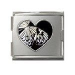 butterfly-pop-art-print-13 Mega Link Heart Italian Charm (18mm)