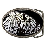 butterfly-pop-art-print-13 Belt Buckle
