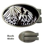 butterfly-pop-art-print-13 Money Clip (Oval)