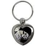 butterfly-pop-art-print-13 Key Chain (Heart)