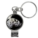butterfly-pop-art-print-13 Nail Clippers Key Chain
