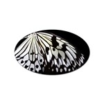 butterfly-pop-art-print-13 Sticker (Oval)
