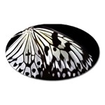 butterfly-pop-art-print-13 Magnet (Oval)