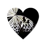 butterfly-pop-art-print-13 Magnet (Heart)