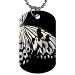 butterfly-pop-art-print-13 Dog Tag (Two Sides)