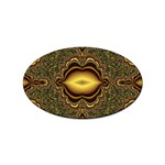 brown_fantasy-958468 Sticker (Oval)
