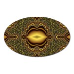 brown_fantasy-958468 Magnet (Oval)