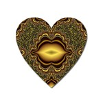 brown_fantasy-958468 Magnet (Heart)