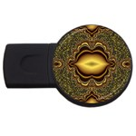 brown_fantasy-958468 USB Flash Drive Round (2 GB)