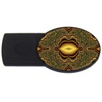 brown_fantasy-958468 USB Flash Drive Oval (1 GB)