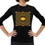 brown_fantasy-958468 Women s Long Sleeve Dark T-Shirt