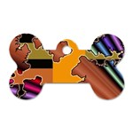 colordesign-391598 Dog Tag Bone (One Side)