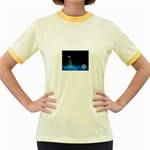 futur2-630637 Women s Fitted Ringer T-Shirt