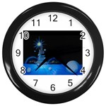 futur2-630637 Wall Clock (Black)
