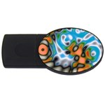 Color_Magma-559871 USB Flash Drive Oval (2 GB)