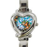 Color_Magma-559871 Heart Italian Charm Watch