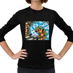 Color_Magma-559871 Women s Long Sleeve Dark T-Shirt