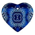 bluerings-185954 Ornament (Heart)