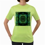 bluerings-185954 Women s Green T-Shirt