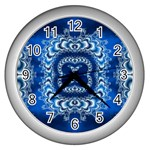 bluerings-185954 Wall Clock (Silver)