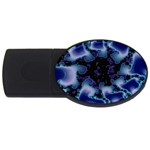 blue%20design%20wave%202-662985 USB Flash Drive Oval (4 GB)
