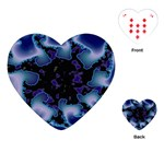 blue%20design%20wave%202-662985 Playing Cards (Heart)