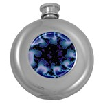 blue%20design%20wave%202-662985 Hip Flask (5 oz)