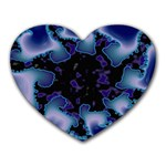blue%20design%20wave%202-662985 Mousepad (Heart)