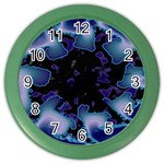 blue%20design%20wave%202-662985 Color Wall Clock