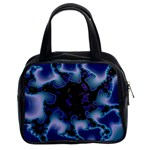 blue%20design%20wave%202-662985 Classic Handbag (Two Sides)