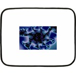blue%20design%20wave%202-662985 Mini Fleece Blanket(Two Sides)