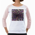 abstract_formula_wallpaper-387800 Girly Raglan