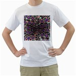 abstract_formula_wallpaper-387800 White T-Shirt