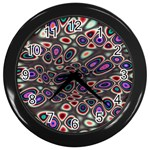 abstract_formula_wallpaper-387800 Wall Clock (Black)