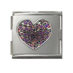 abstract_formula_wallpaper-387800 Mega Link Heart Italian Charm (18mm)