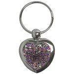 abstract_formula_wallpaper-387800 Key Chain (Heart)