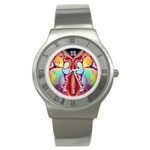 Cyber_Mirror-364694 Stainless Steel Watch