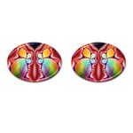 Cyber_Mirror-364694 Cufflinks (Oval)