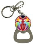 Cyber_Mirror-364694 Bottle Opener Key Chain