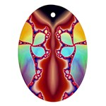 Cyber_Mirror-364694 Oval Ornament (Two Sides)