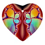 Cyber_Mirror-364694 Heart Ornament (Two Sides)