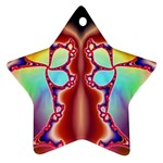 Cyber_Mirror-364694 Star Ornament (Two Sides)