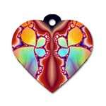 Cyber_Mirror-364694 Dog Tag Heart (One Side)
