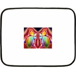 Cyber_Mirror-364694 Mini Fleece Blanket(Two Sides)
